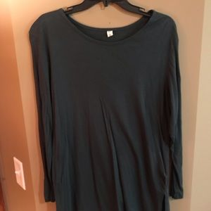 BP Long Sleeve Army Green Shirt